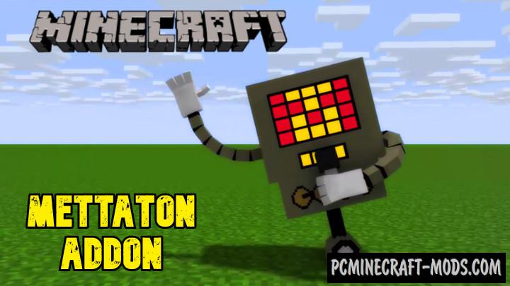 Mettaton Addon For Minecraft Bedrock 1.14.0, 1.13.1