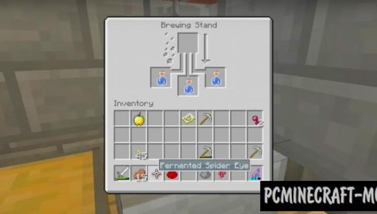 Missing Potion Recipes Addon For Minecraft PE 1.17.0, 1.16.221