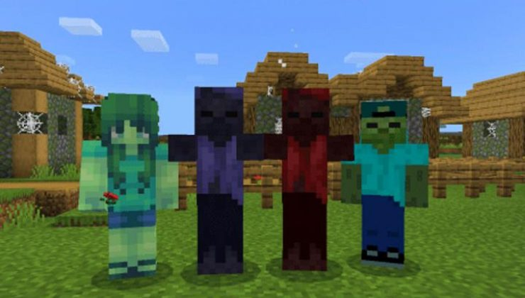 More Zombies Addon For Minecraft PE 1.17, 1.16