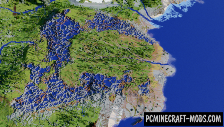 Morath - Custom Biomes Map For Minecraft
