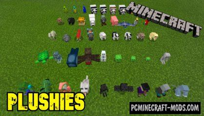 Plushies! Mod For Minecraft 1.14.0, 1.13.0 iOS/Android