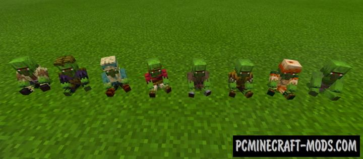 Plushies! Mod For Minecraft 1.17.0, 1.16.221 iOS/Android
