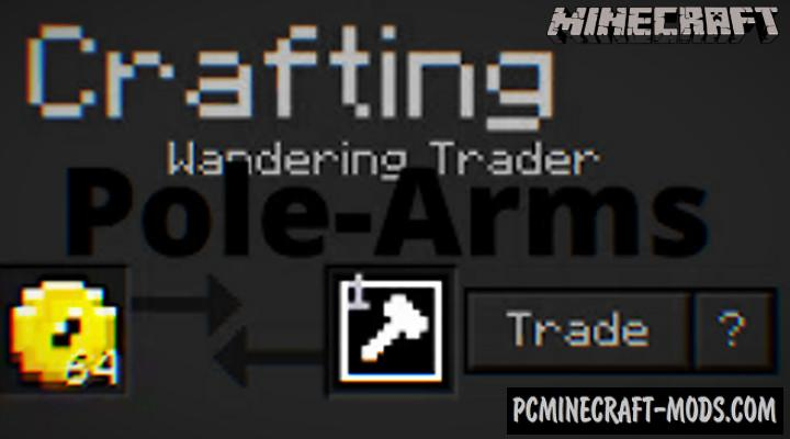Pole-Arms ToolKit Addon For Minecraft PE 1.14.0, 1.13.1