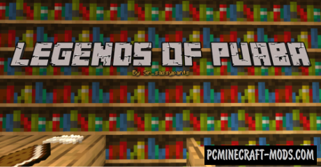 Legends of Puaba - Adventure Map For Minecraft