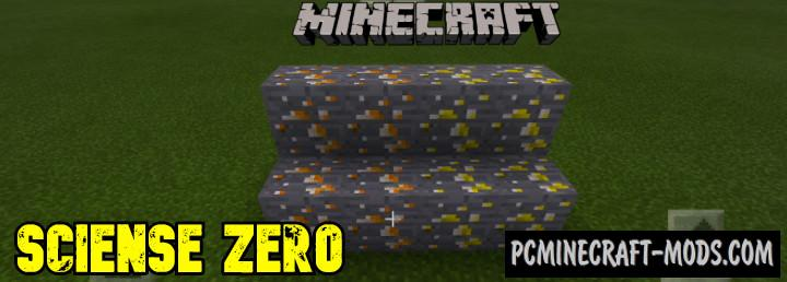 Science Zero Chemistry Addon For Minecraft PE 1.16, 1.14