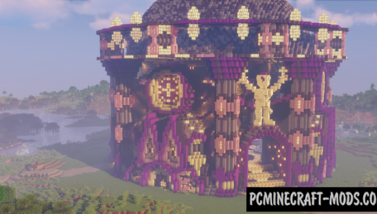 Castle Tower - Castle Map For Minecraft