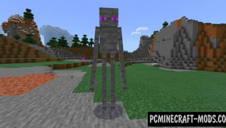 Stone Mobs Add-on For Minecraft PE 1.17.0, 1.16.221