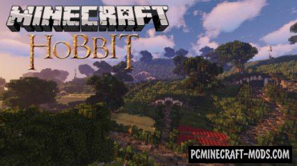Hobbit Village - LOTR Buildings Map For Minecraft