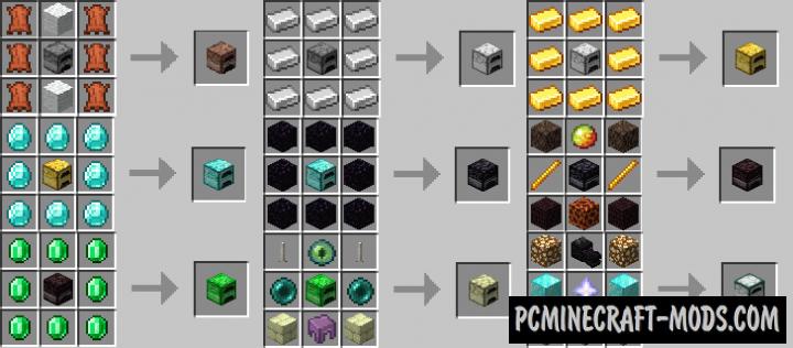 Fabric Furnaces - Blocks Mod Minecraft 1.16.4, 1.15.2, 1.14.4