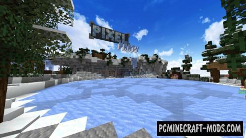Pixel Party 2 - Mini Games Map For Minecraft