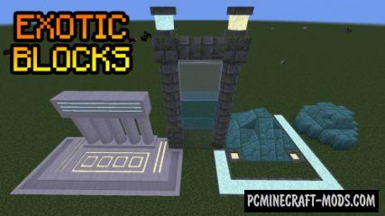 Exotic Blocks - Decor Mod For Minecraft 1.14.4