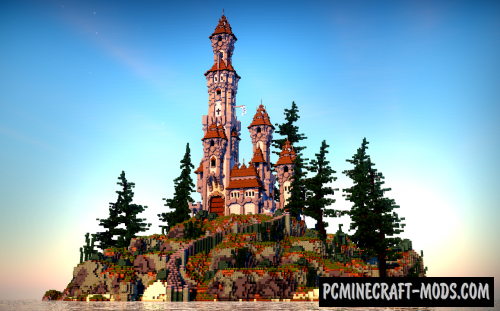 Nepumnia's - Castle Map For Minecraft