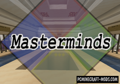 Masterminds - Puzzle Map For Minecraft