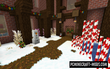 New Default-Style - Christmas Resource Pack MC 1.15, 1.14.4