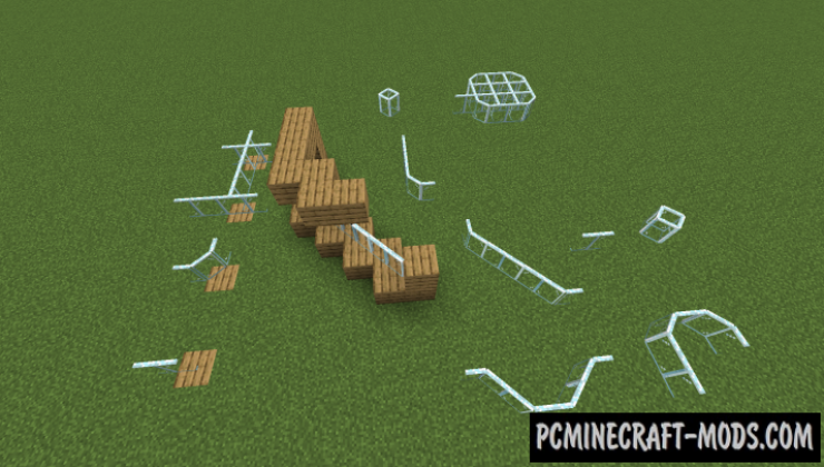 Diagonal Panes - Decor Mod For Minecraft 1.16.5, 1.16.4