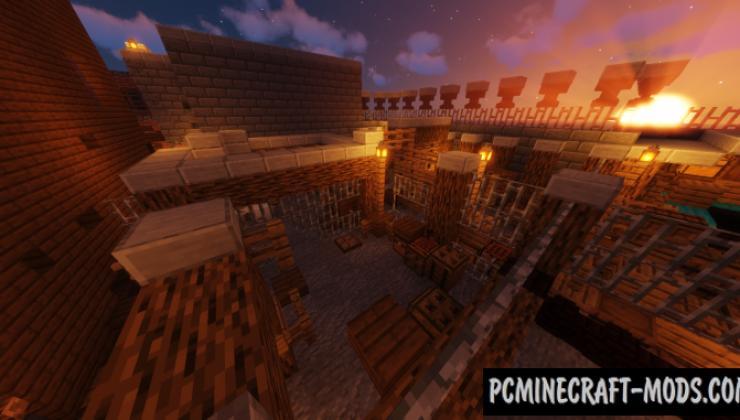 Escape from Dernia - Escape Map For Minecraft