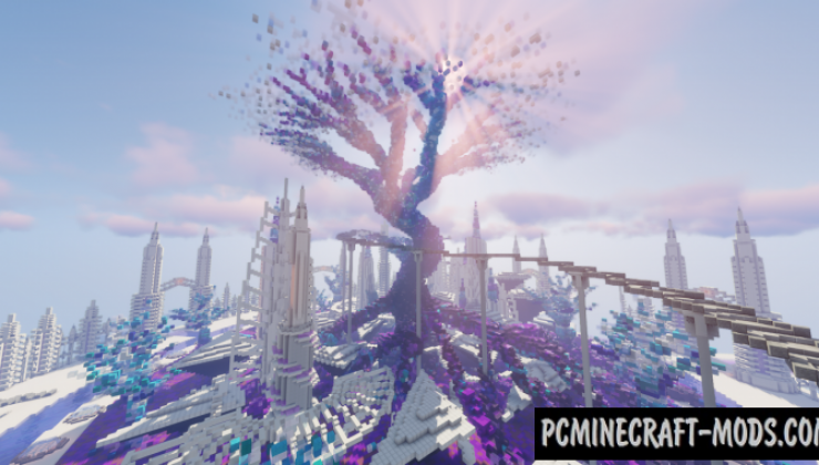Cyrnn - The Path of the Enrelm - City Map For MC