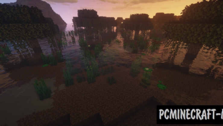 Enchanced Biome: River & Pond Resource Pack 1.15.2, 1.14.4