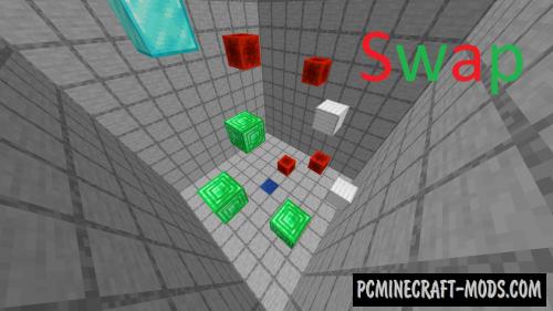 Swap - Parkour Map For Minecraft