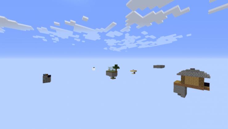 BeeBlock Islands - Survival Map For Minecraft