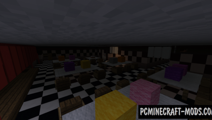 All FNAF Locations - Horror Map For Minecraft
