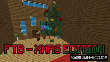 FTB - Xmas Edition - Finding Map For Minecraft
