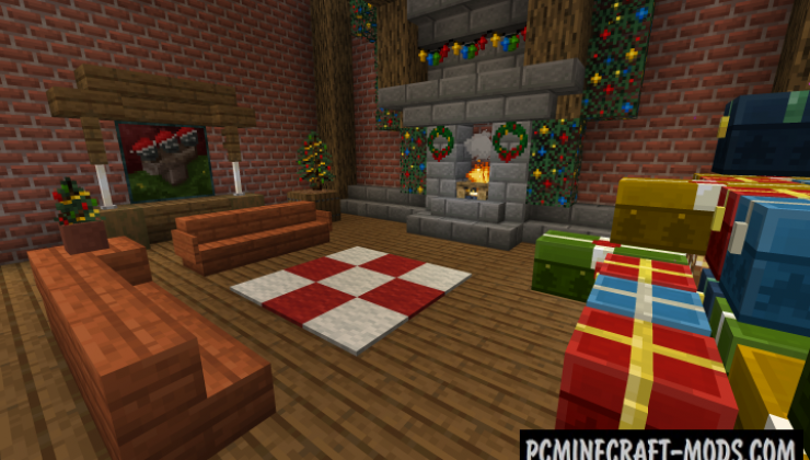 New Default-Style - Christmas Resource Pack MC 1.15.1, 1.14.4