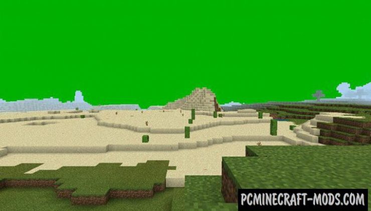 360 Chroma Addon For Minecraft PE 1.18, 1.17 iOS/Android
