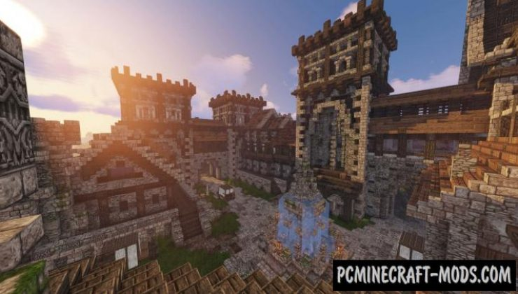 Gothic Manor - Castle Map For Minecraft