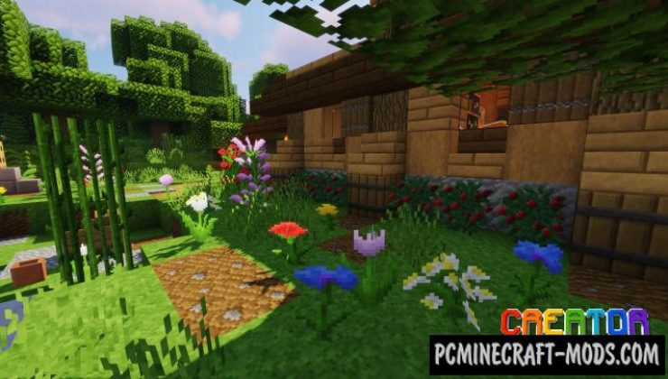 The CreatorPack 32x Texture Pack For Minecraft 1.16.5, 1.16.4