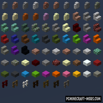 Absent by Design - Decor Mod For MC 1.16.4, 1.15.2, 1.14.4