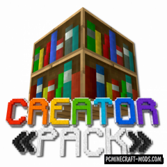 The CreatorPack 32x Texture Pack For Minecraft 1.16.3, 1.16.2