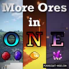 More Ores In ONE - Blocks Mod For Minecraft 1.16.1, 1.15.2