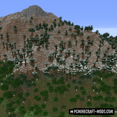 Simplex Terrain - Generation Mod For MC 1.16.5, 1.16.4
