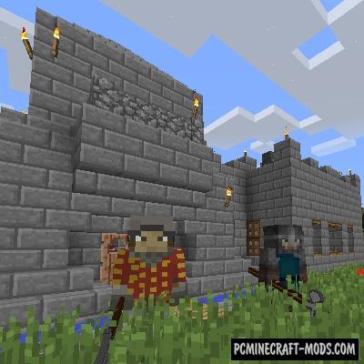 GuardsCraft - Money Guards Mod For MC 1.15.2, 1.14.4
