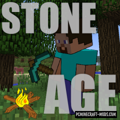 Yanny's Stone Age - Surv Tweaks Mod For MC 1.16.4, 1.15.2, 1.14.4