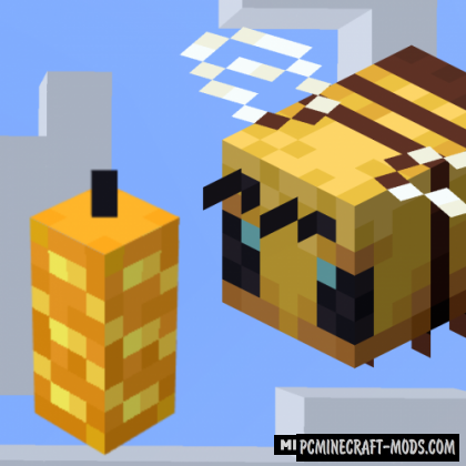 Buzzier Bees - New Items Mod For Minecraft 1.16.5, 1.16.4