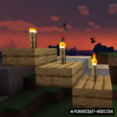 TorchSlabs - Decorative Mod For Minecraft 1.16.5, 1.15.2