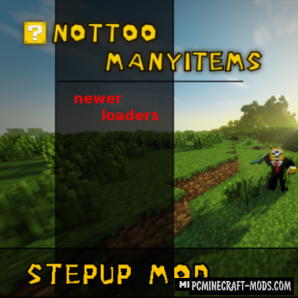 StepUpNext - Tweak Mod For Minecraft 1.16.2, 1.15.2, 1.14.4