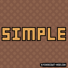 Digs' Simple 16x Resource Pack For Minecraft 1.16, 1.15.2