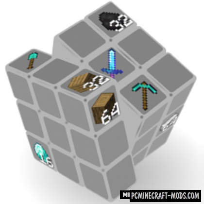 Rubik's Hotbar - Tweak Mod For Minecraft 1.15.1