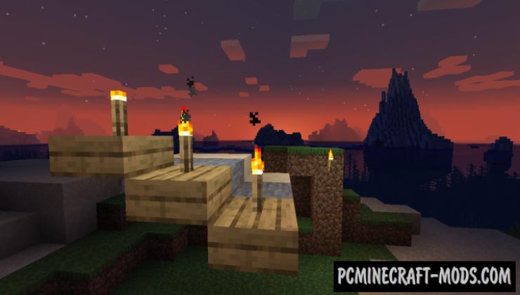 TorchSlabs - Decorative Mod For Minecraft 1.17.1, 1.16.5, 1.15.2