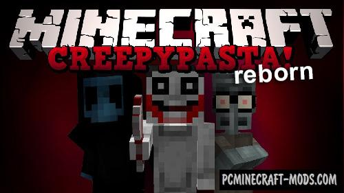 CreepypastaCraft Reborn - Mobs Mod For MC 1.12.2