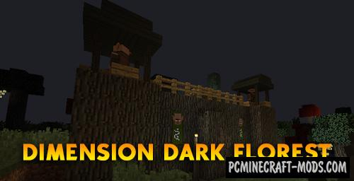 Dark Florest - Dimension Mod For Minecraft 1.12.2