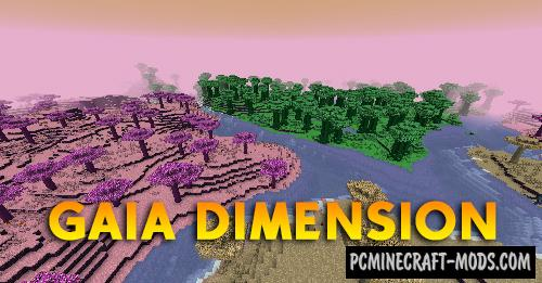 Gaia - Dimension Mod For Minecraft 1.16.5, 1.16.4, 1.12.2