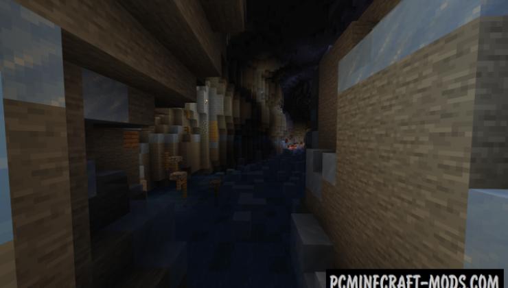 Escape the Cave! - Puzzle, Parkour Map For Minecraft