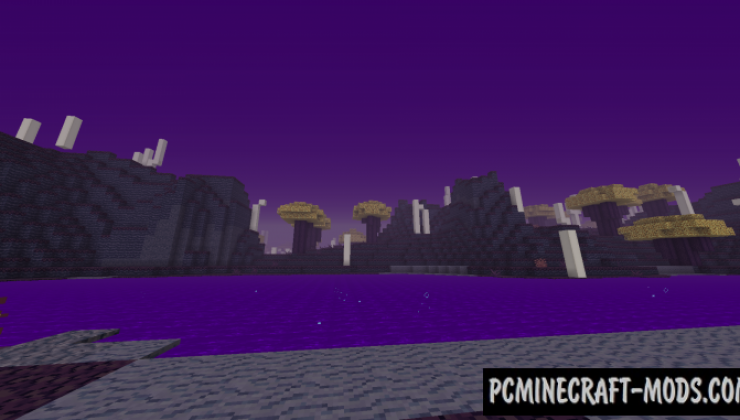 The Hallow - Dimension Mod For Minecraft 1.15.1, 1.14.4