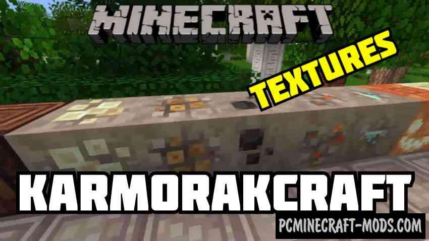 Karmorakcraft HD Mix Resource Pack For MC 1.15.1, 1.14.4