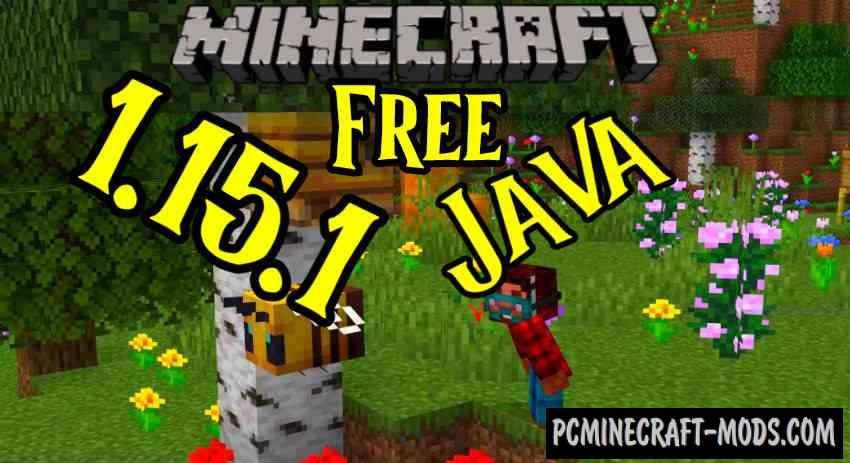 Minecraft 1.15.1 Download Free, v1.15.1 PC Java Edition