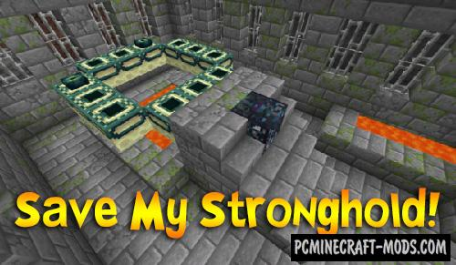 Save My Stronghold! - Gen Tweak Mod For MC 1.16.5, 1.12.2